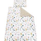TupTam barn sängkläder mönstrad 2-delad