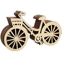 Moppi 10pcs de la bicicleta de madera Adorno