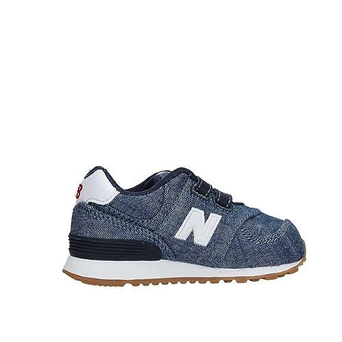 sneakers new balance 5 strappo bambina 32