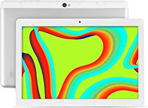 Tablet 10.1 Inch Android 9.0 Tablets with 4GB RAM+64GB ROM 2MP+ 5MP Camera, WiFi, Bluetooth, GPS, Quad Core,1280800HD Touchscreen - 6000mAh Battery (White)