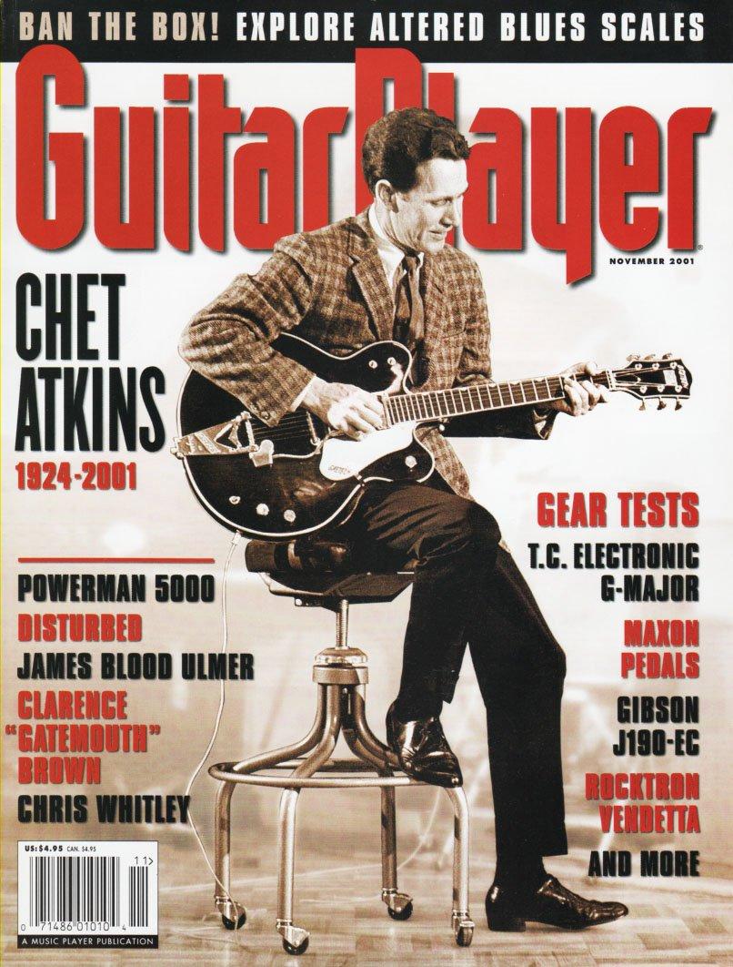 Download Guitar Player Magazine (November 2001)[Issue 381 / Vol. 35 / No. 11] Chet Atkins ebook