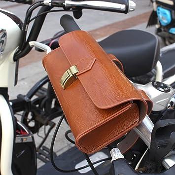 Vintage Bicycle Tail Bag Bike Saddle Bag Back Seat Tail PU Pouch Bags