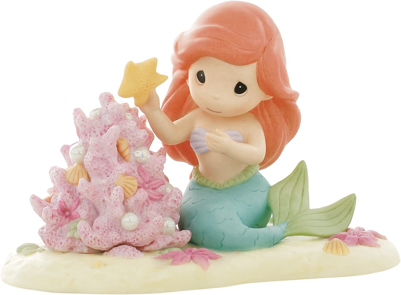 Precious Moments Disney Collection The Christmas Spirit is A Part of My World Figurine