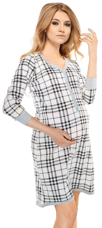 Di Ficchiano Women's Maternity Night Shirt