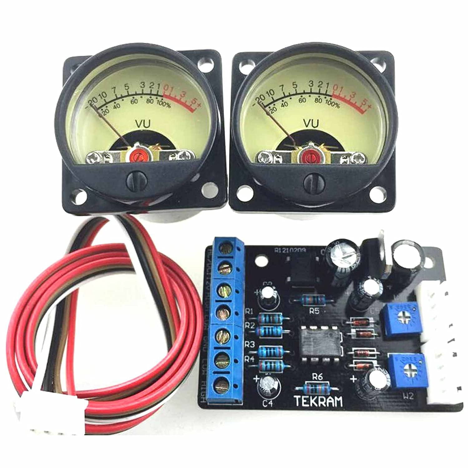 Tr 35 Audio Power Amplifier Panel Vu Meter Db Level Led How To Build 1 Circuit Diagram Header Driver Board Home Theater