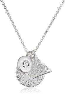 Pilgrim Women Silver Plated Pendant Necklace - 321816031