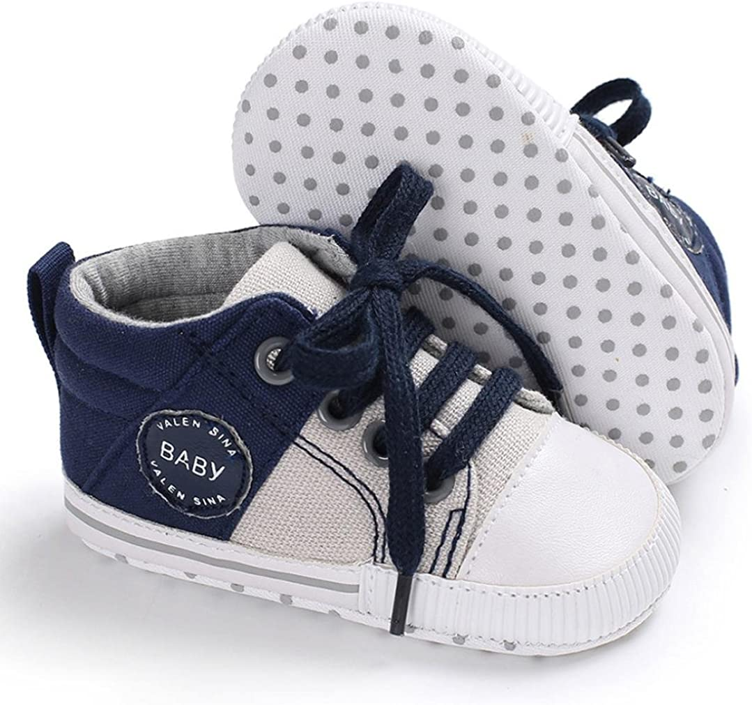 WARMSHOP Newborn Baby Girls Plaid Lace Bowknot With Elastic Band Lovely Anti-Slip Casual Single Shoes