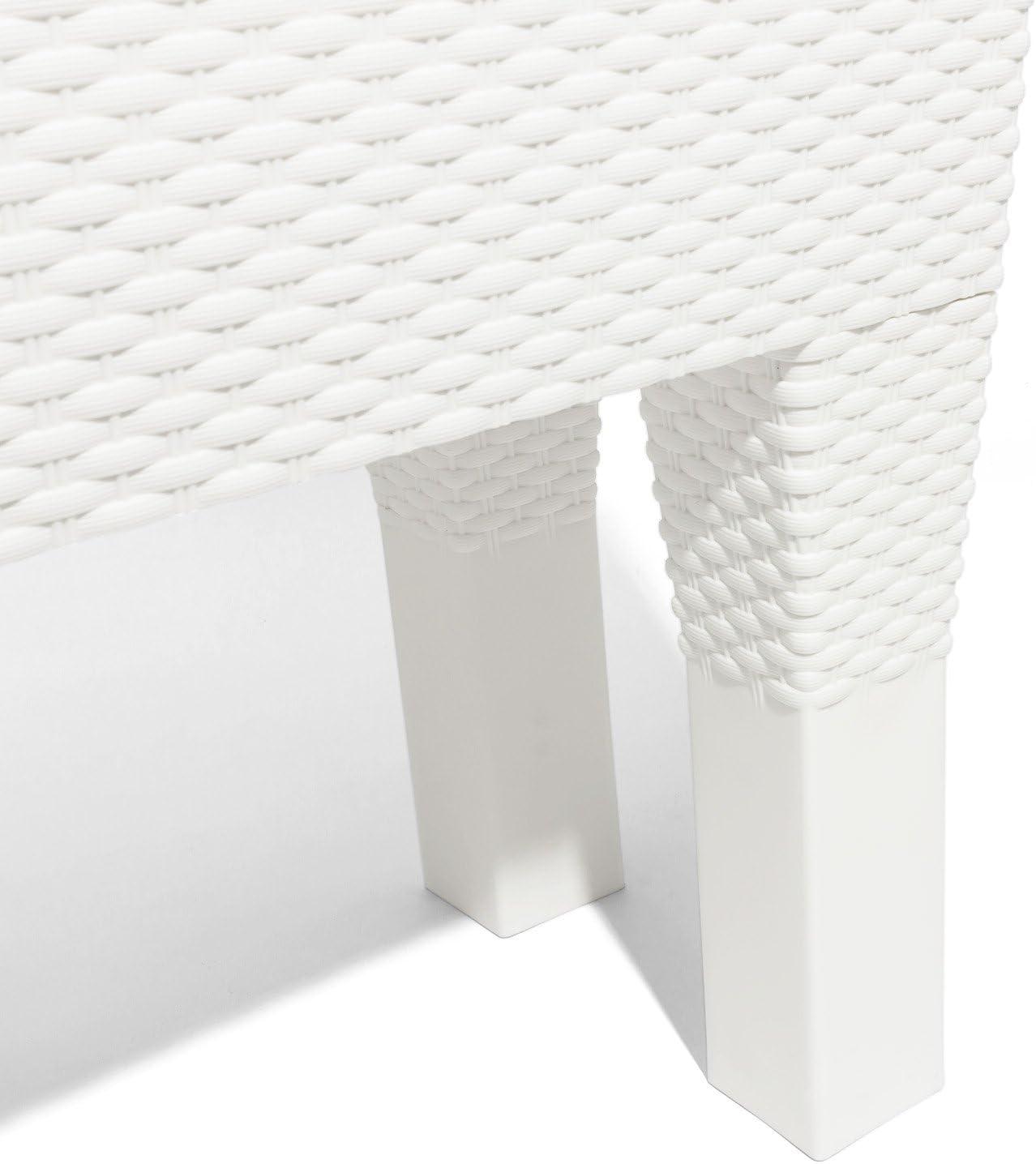 Zanvic Lofly Jardinera Blanco 57.8x25.7x22.4 cm