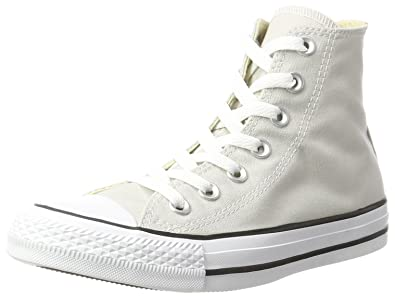 Unisex Adults CTAS Pale Putty Hi-Top Trainers, Grau (Pale Putty), 5.5 UK Converse