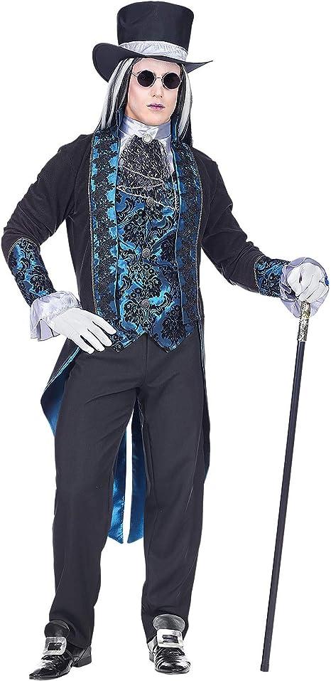 WIDMANN Disfraz de Vampiro Victoriano para Hombre M: Amazon.es ...