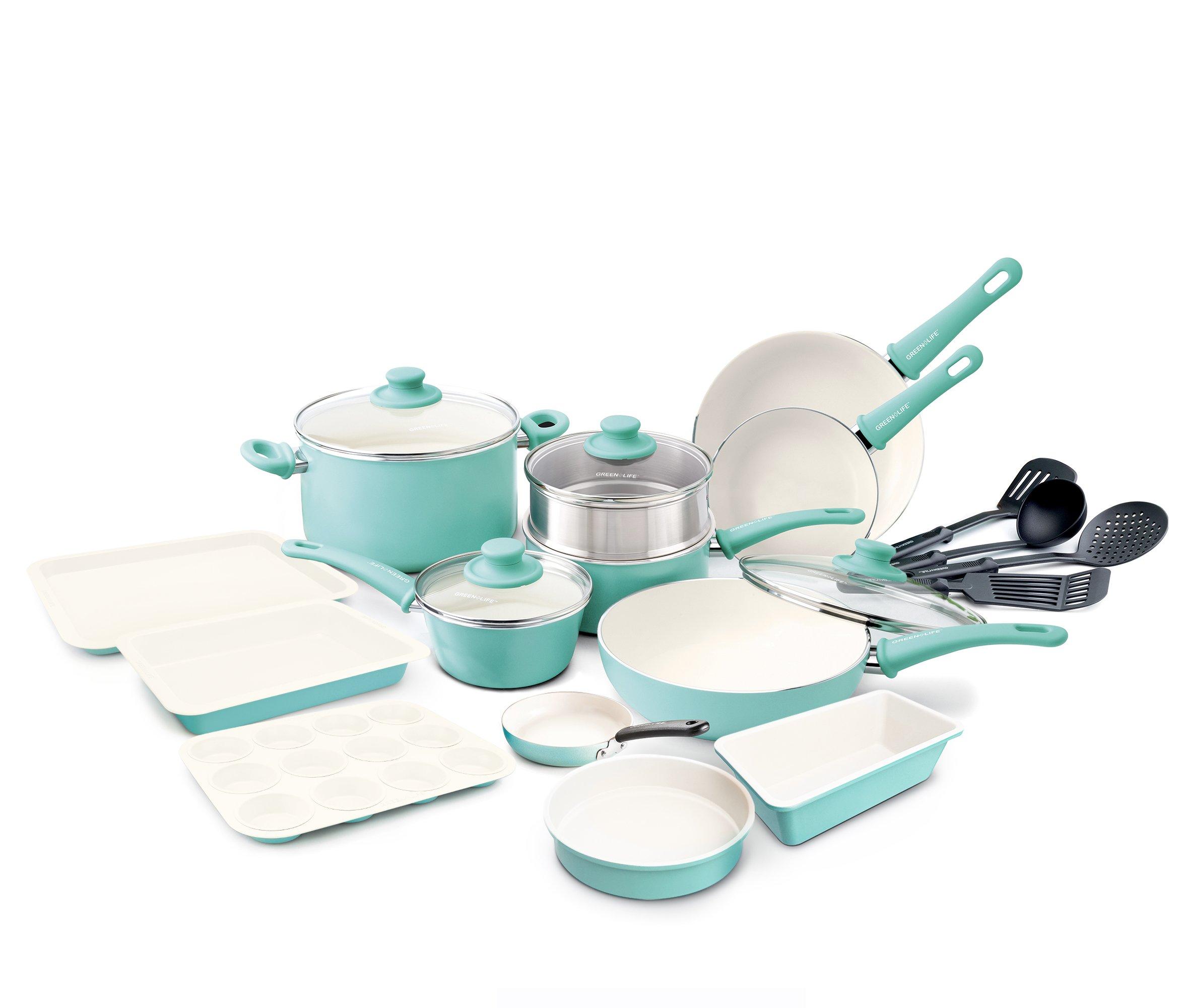 GreenLife 16pc Set  + Bakeware Bundle