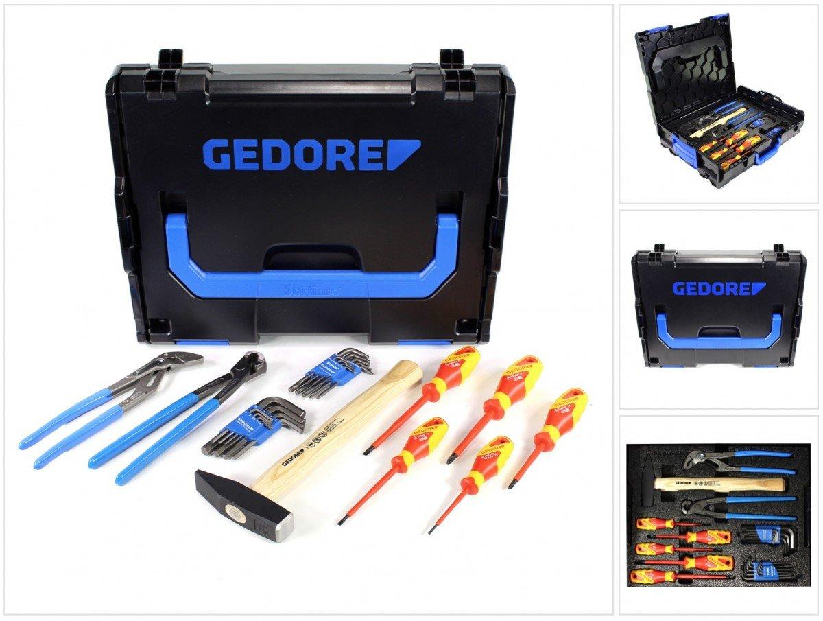 Gedore 1600A012ZY Werkzeugset in L-Boxx, 26-teilig Bosch