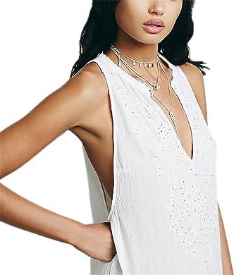 DaveDu NEW verão bordado do vintage maxi vestido branco Flor plissada vestido de verão férias vestido