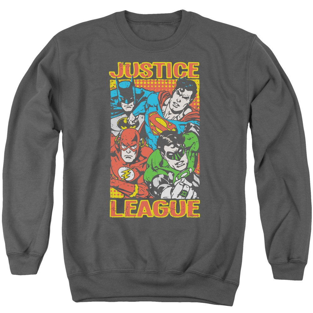 Justice League - Männer Held Mashup Sweater