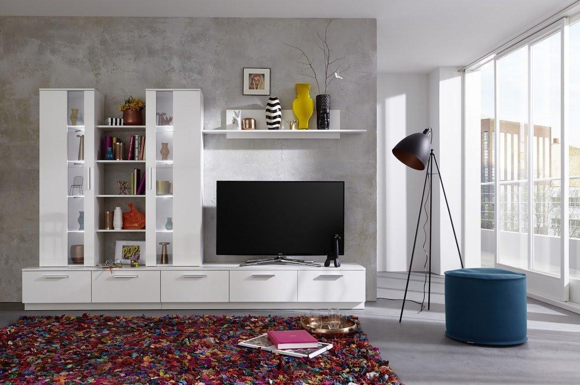 Brilliant Anbauwand Wohnzimmer Dekoration Von Details Zu Dreams4home Wohnkombination 'palermo