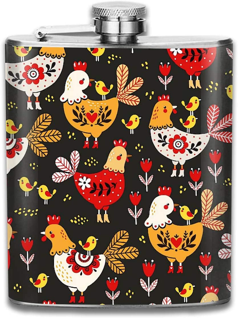 Gallo gallinas populares rojas Pollos en ala Patrón Regalo de ...
