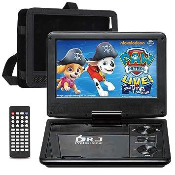 Amazon.com: DR. J Reproductor de DVD portátil profesional ...