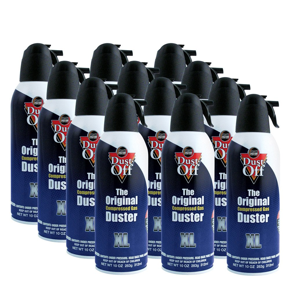 Falcon Dust-Off Spray aria compressa, 300 ml, confezione da 12 Other