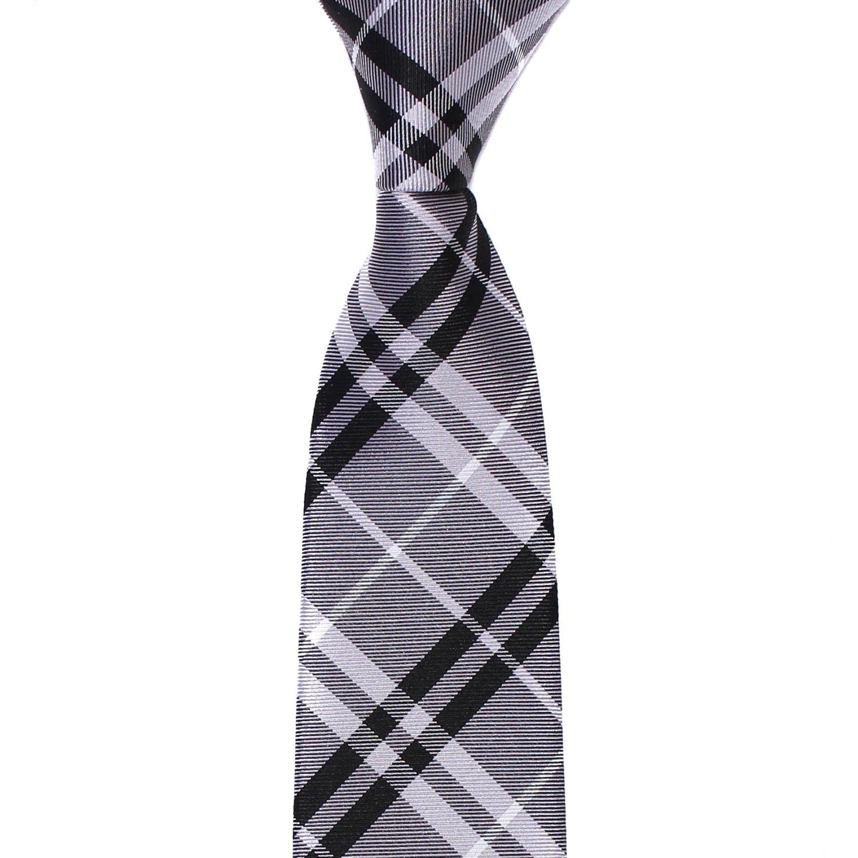 d878da0833a3b TIECLUB - Cravates Hommes 100% Soie - Coupe Moderne - Largeur de 6 ...