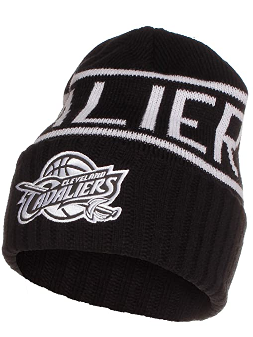 deb3a259453 Image Unavailable. Image not available for. Color  Mitchell   Ness NBA  Cleveland Cavaliers Cuffed Beanie ...