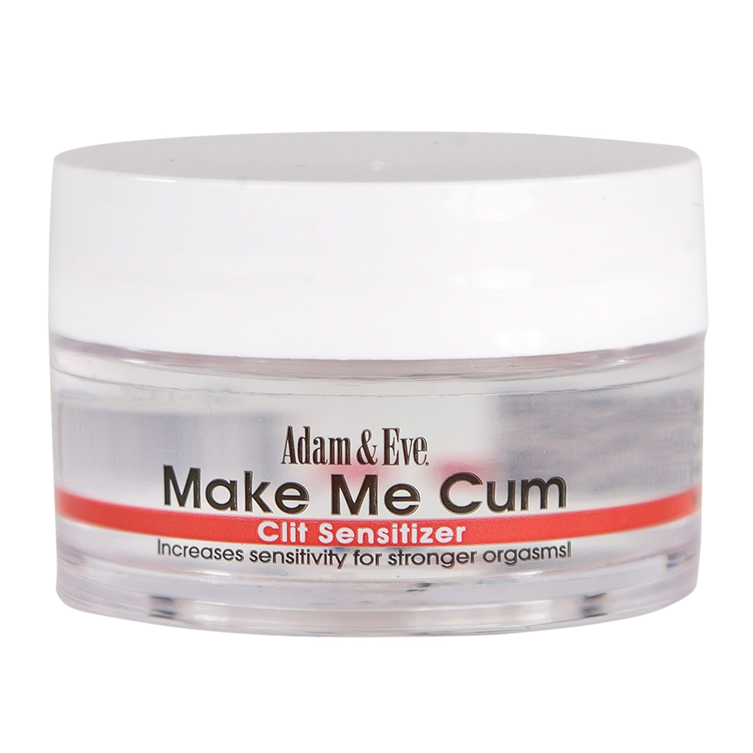 Adam & Eve Make Me Cum Sensitizer 0.5 oz | Stimulation Gel and Water Based Lube for Women