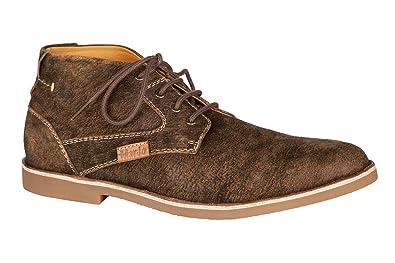 a357d32b670236 MarJo Trachten Herren Sneaker - CHUCK2 - Dunkelbraun