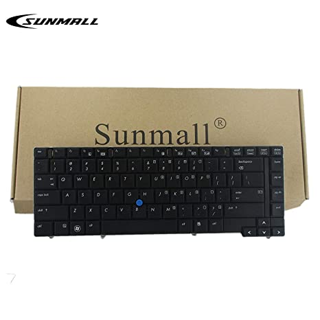 KBR Replacement Keyboard for HP Elitebook 8440 8440P 8440W Series Without Pointer US Layout