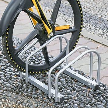 Aparcamiento para bicicleta soporte para aparcar 2 bicicletas ...