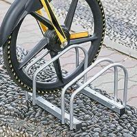 Aparcamiento para bicicleta soporte para aparcar 2 bicicletas