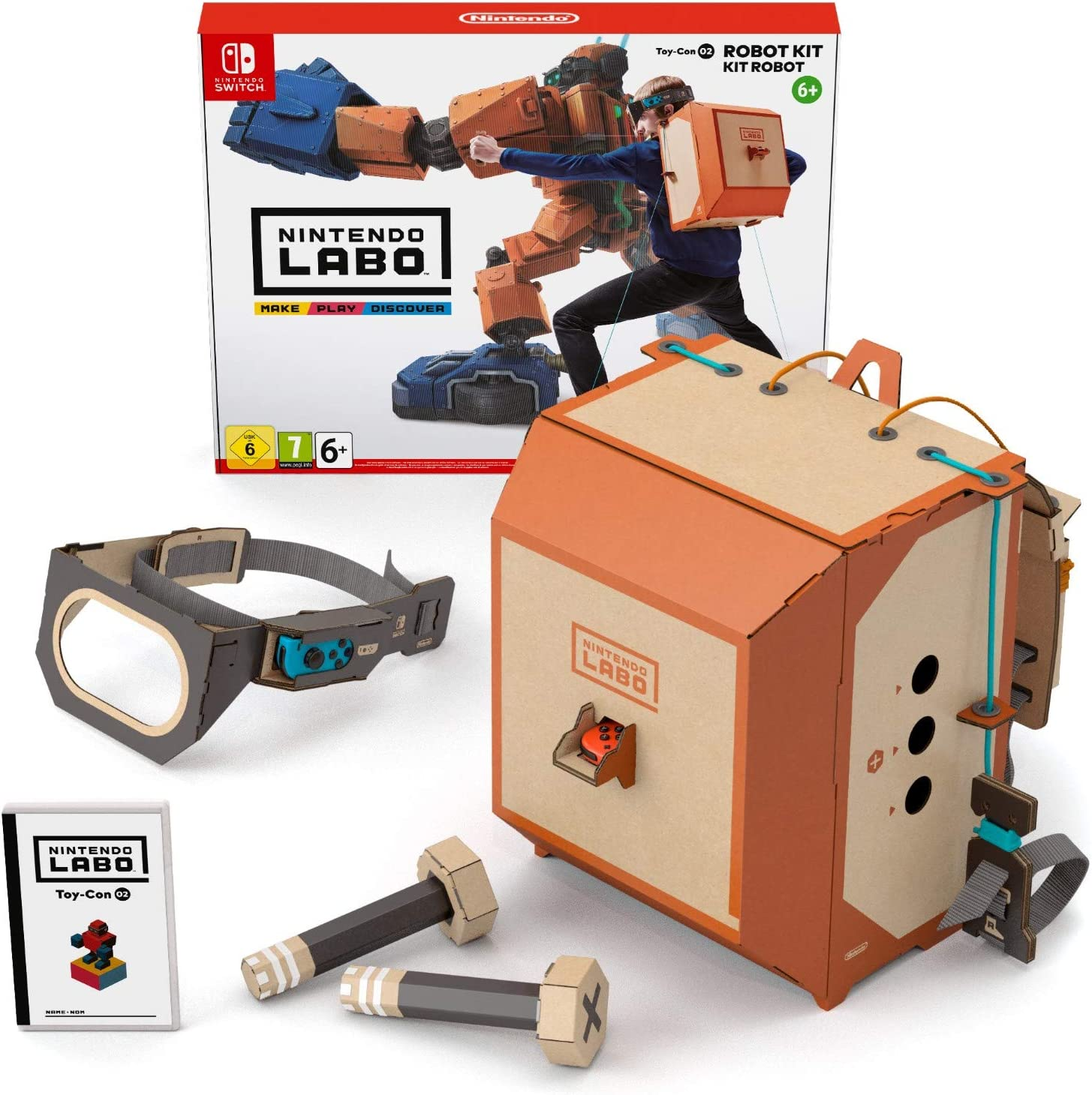 Switch Nintendo Labo: Toy-Con Kit robot: Amazon.es: Videojuegos