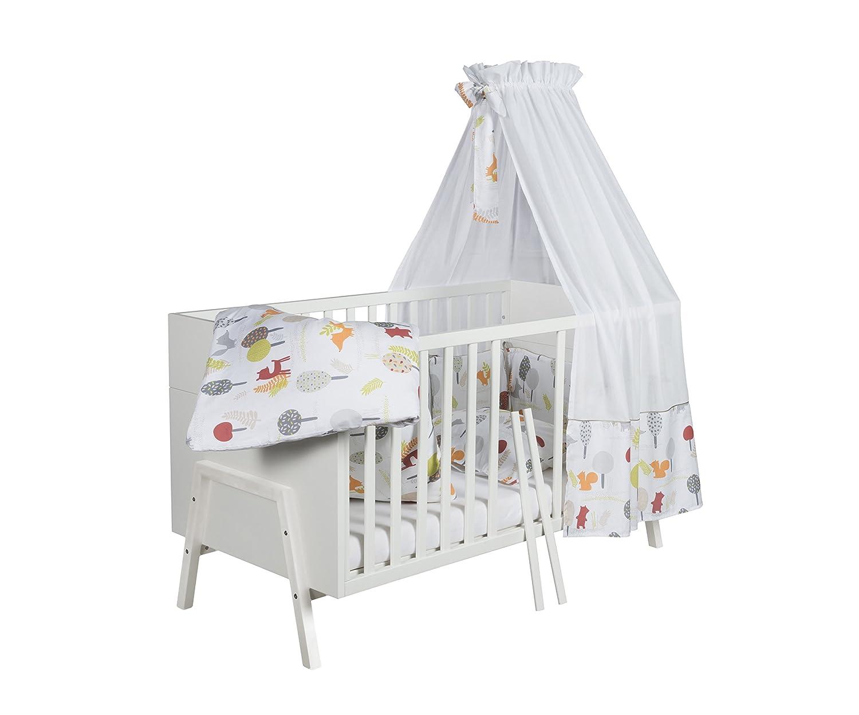 Schardt 04 920 02 02 Kombi-Kinderbett, 70 x 140 cm, holly white