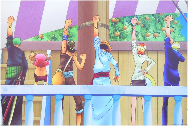 Amazon One Piece ワンピース 壁紙 90cm 135cm 仲間の印だ アニメ