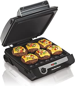 Hamilton Beach 3-in-1 Indoor Grill and Electric Griddle
