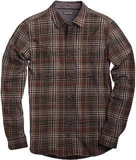 GRMO Men Long Sleeve Plaid Classic Easycare 100/% Cotton Shirt