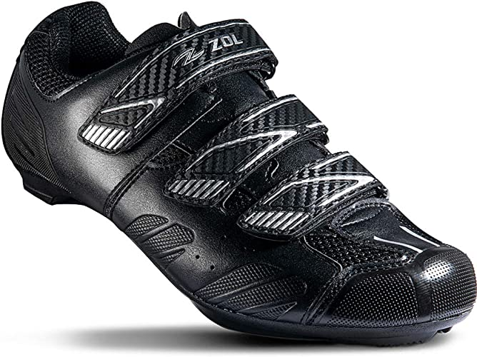 Zol Road Bike Cleats for Shimano SPD-SL Shoes for Indoor Cycling or Road Bicycle