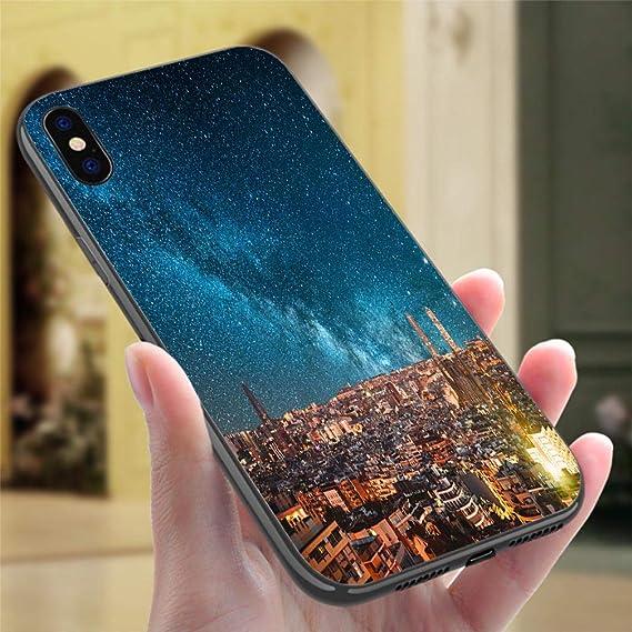 Amazon.com: IPhone7P/8P Color case Barcelona at Night ...