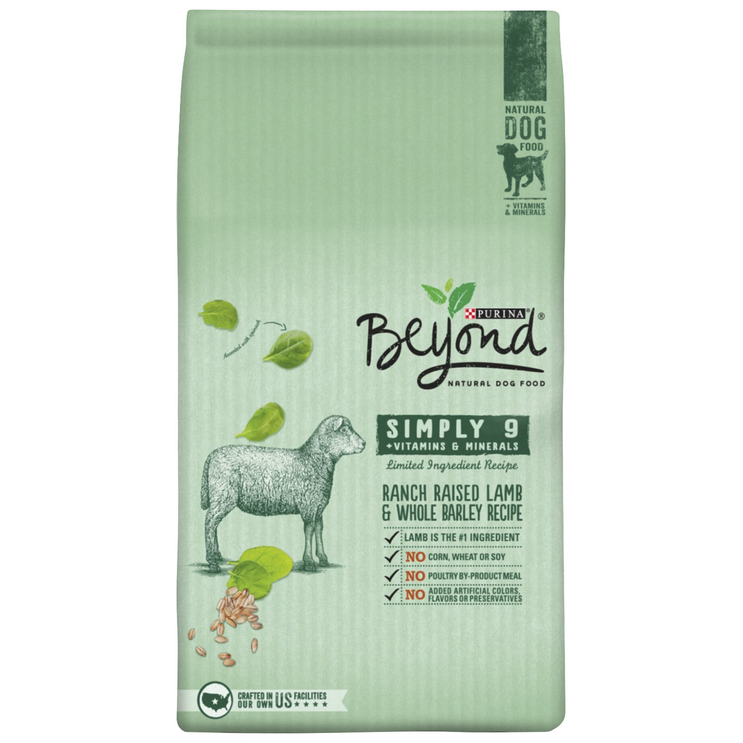 Purina Beyond Cat Food >> Purina Beyond Natural Dry Dog Food, Simply 9, Ranch Raised Lamb and Whole... | eBay