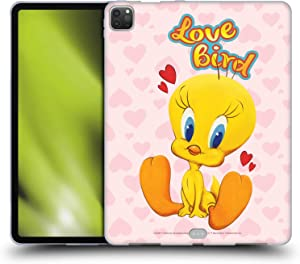 Head Case Designs Officially Licensed Looney Tunes Tweety Season Soft Gel Case Compatible with Apple iPad Pro 12.9 (2020 / 2021)