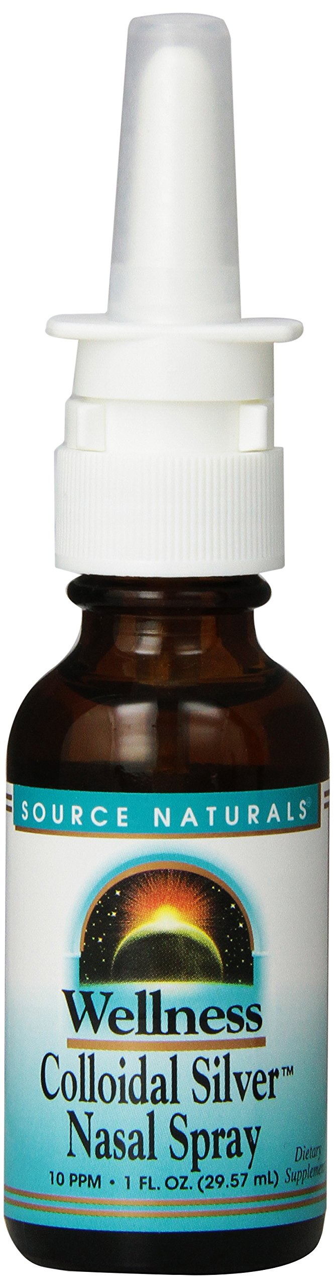 Source Naturals Wellness Colloidal Silver Nasal Spray, 1 Fl Oz