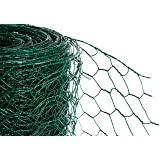 PVC Green chicken Wire 50mm x 1200mm high x 25m (536)