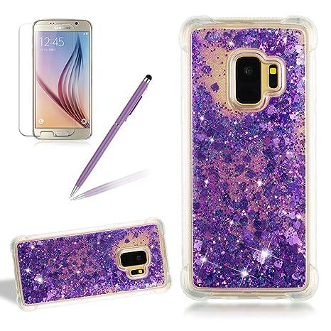 girlyard móvil para Galaxy S9 líquido, 3d creativas transparente ...