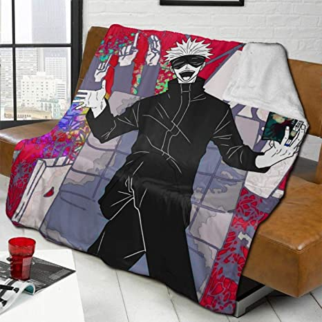 Jujutsu Kaisen Picnic Wallpaper Pgytzdwakxdmtm https www amazon com jujutsu blanket microfiber flannel camping dp b091537553
