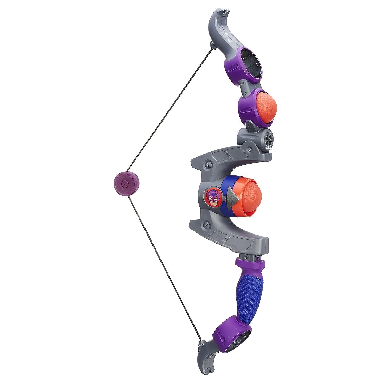 Playskool Heroes Marvel Super Hero Adventures Hawkeye Purple Bow