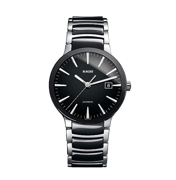 Rado Centrix Swiss reloj automático de acero inoxidable de los hombres de, color: