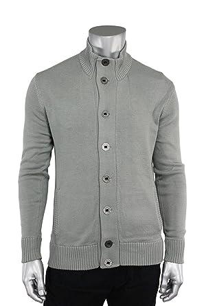 de427c36d29b Jordan Craig Mock Neck Cardigan Sweater at Amazon Men s Clothing store