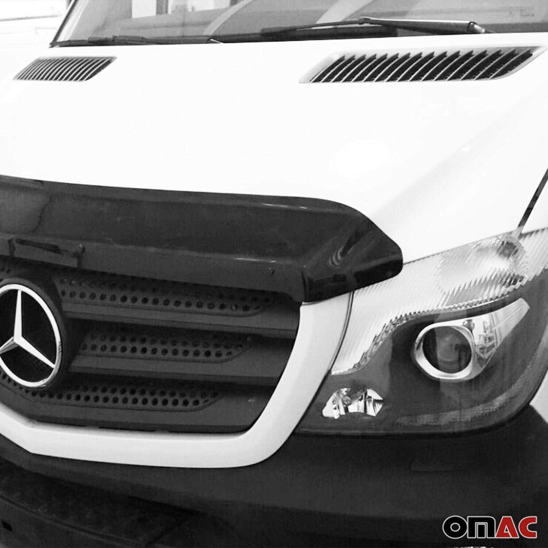 Motorhaube Deflektor Insekten Und Steinschlagschutz Kompatibel Mit Sprinter W906 2013 2018 Auto