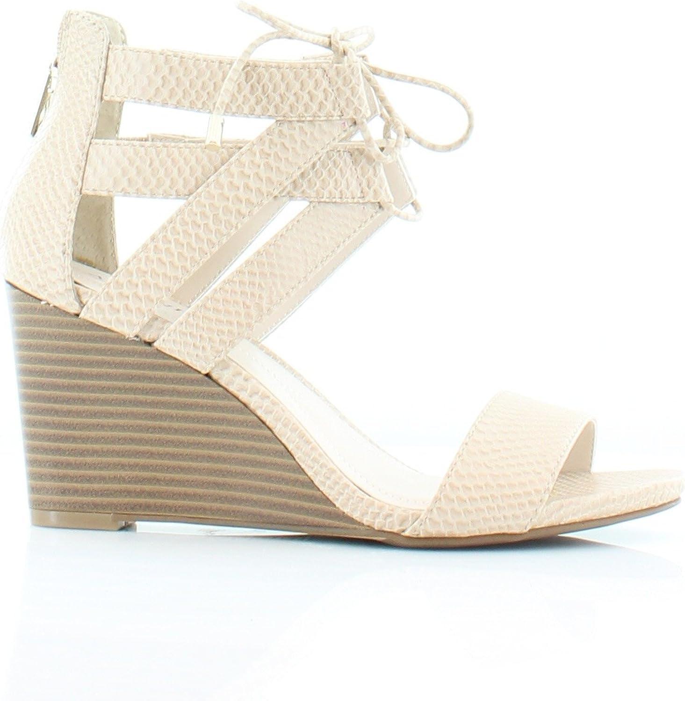 Alfani Karlii Womens Sandals /& Flip Flops Cashew Size 6.5 M