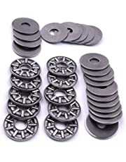 ATOPLEE AXK0819+2AS Thrust Needle Roller Bearings 1pc Cage Needle + 2pcs Washers [ 8x19mm, 10pcs]