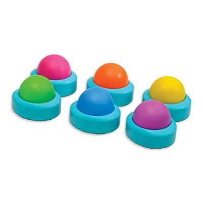 Educational Insights Wireless Eggspert Extra Student Buttons (Set of 6): Office Products