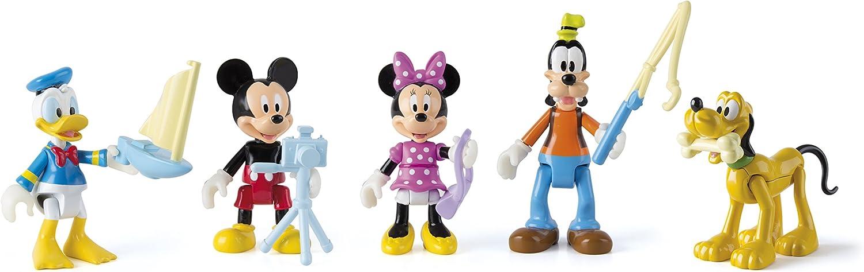 IMC Toys - Pack 5 Figuras Mickey (181861): Amazon.es: Juguetes y juegos
